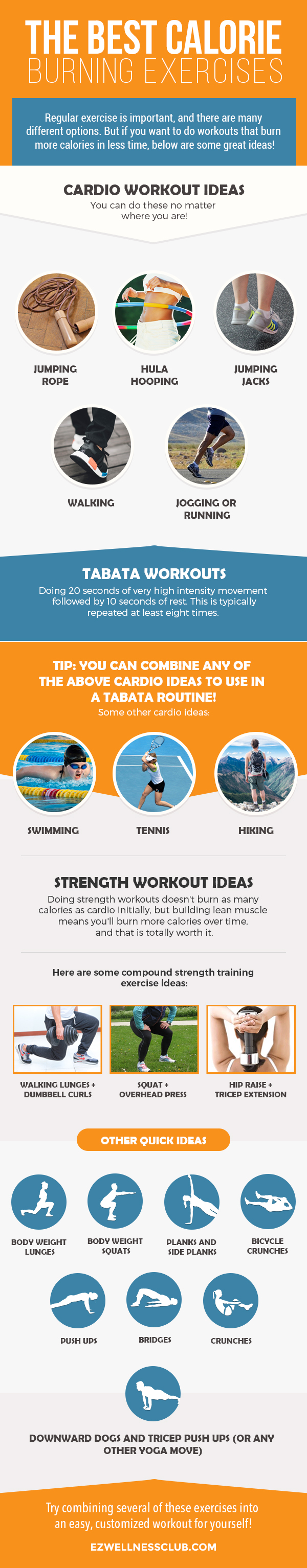 THE BEST CALORIE BURNING EXERCISES
