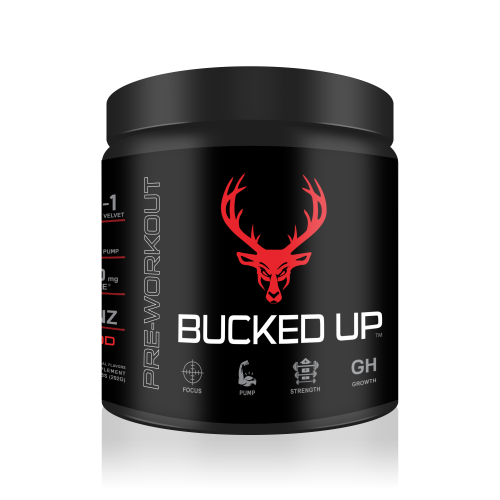 BUCKED UP Pre Workout Red Raz