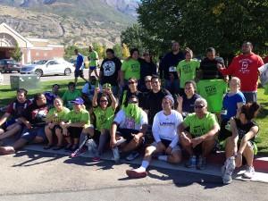 5K Runners Group Selfie